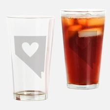 Heart Nevada Drinking Glass