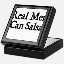REAL MEN CAN SALSA Keepsake Box