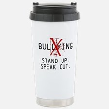 No Bullying - Stand up. Speak out. Travel Mug