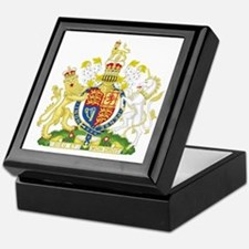 Royal Coat of Arms Keepsake Box