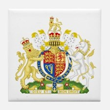 Royal Coat of Arms Tile Coaster