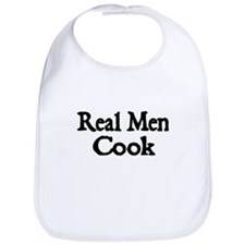 REAL MEN COOK Bib