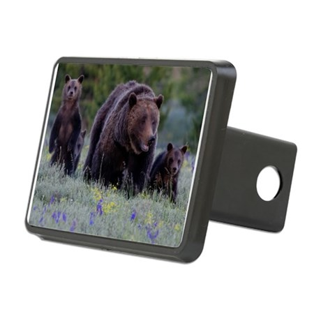 MAMMA GRIZZLY and 3 CUBS Hitch Cover