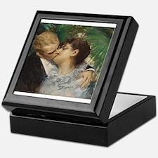 Romantic Art by Anders Zorn-The Embrace Keepsake B