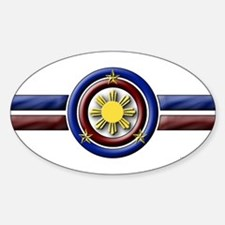 Philippine Shield - Oval Decal