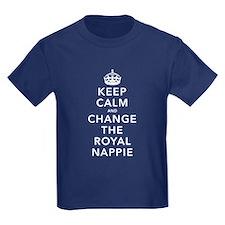 Change Royal Nappie T-Shirt