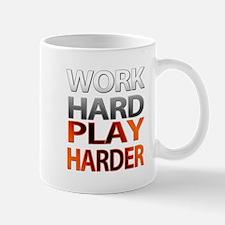 Work Hard, Play Harder Small Small Mug