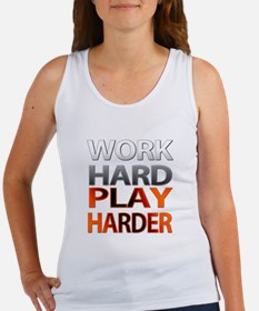 Work Hard, Play Harder Tank Top