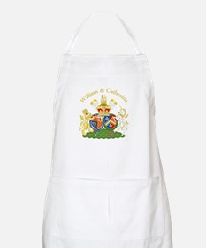William and Catherine Coat of Arms Apron