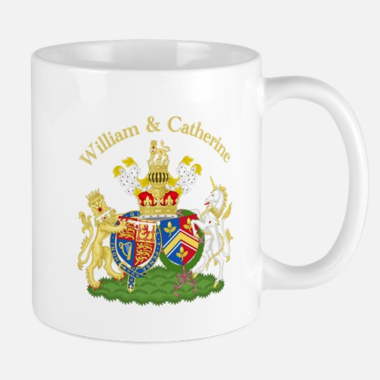 William and Catherine Coat of Arms Mug