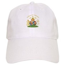 William and Catherine Coat of Arms Baseball Cap