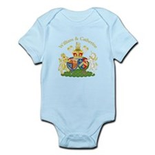 William and Catherine Coat of Arms Onesie