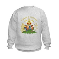 William and Catherine Coat of Arms Sweatshirt