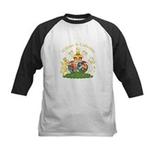 William and Catherine Coat of Arms Tee