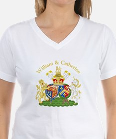 William and Catherine Coat of Arms Shirt