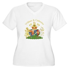 William and Catherine Coat of Arms T-Shirt