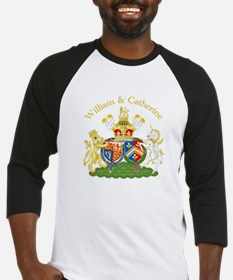 William and Catherine Coat of Arms Baseball Jersey