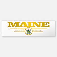 Maine Gadsden Flag Bumper Bumper Bumper Sticker