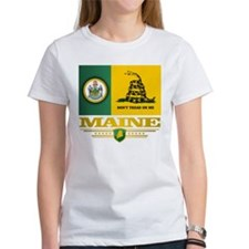 Maine Gadsden Flag T-Shirt