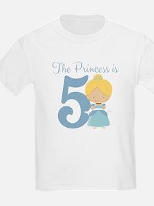 Thre Princess is 5 T-Shirt