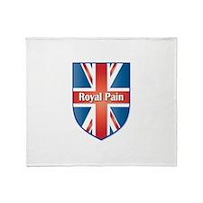 Union Jack Royal Pain Throw Blanket