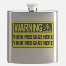Personalize It, Warning Sign Flask
