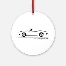 1967, 1968, 1969 Camaro Convertible Ornament (Roun