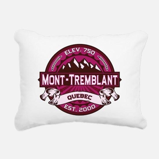 Mont Tremblant Raspberry.png Rectangular Canvas Pi