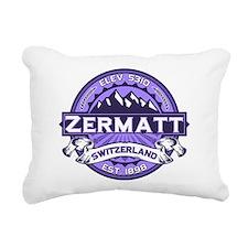 Zermatt Logo Violet.png Rectangular Canvas Pillow