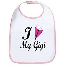 I Heart My Gigi Bib
