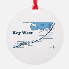 Key West - Map Design. Ornament