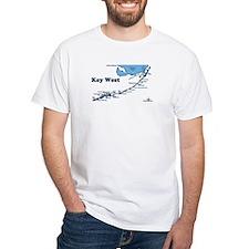 Key West - Map Design. Shirt