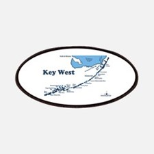 Key West - Map Design. Patches