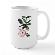 Vintage Pink Morning Glory Mug