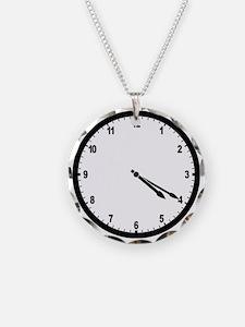 4:20 Clock Necklace