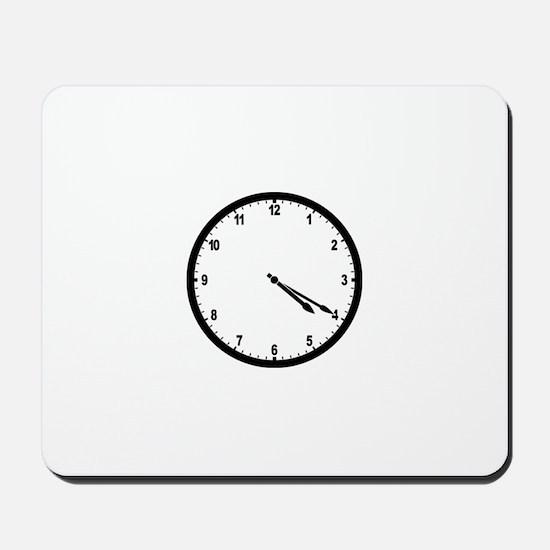4:20 Clock Mousepad