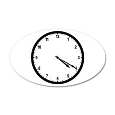 4:20 Clock Wall Decal