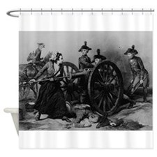 molly pitcher Shower Curtain