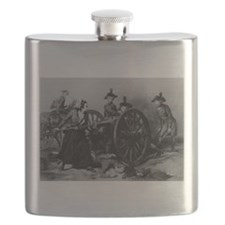 molly pitcher Flask