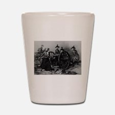 molly pitcher Shot Glass