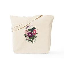 Vintage Morning Glories Tote Bag
