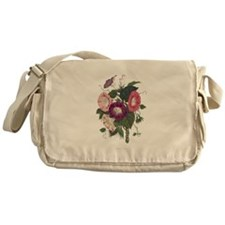 Vintage Morning Glories Messenger Bag