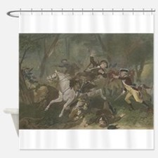 kings mountain Shower Curtain