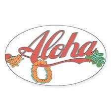Aloha Hawaii Decal