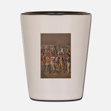 continental army Shot Glass