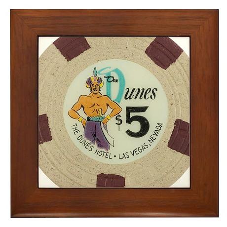 Vintage Dunes Las Vegas Casino Poker Chip Gambling