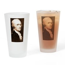 alexander hamilton Drinking Glass