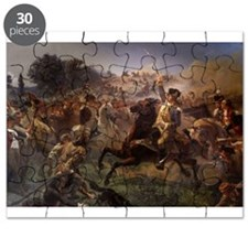 washington at monmouth Puzzle