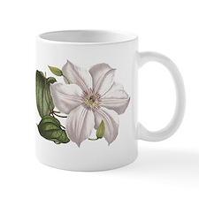 White Clematis Mug