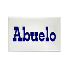 Abuelo Rectangle Magnet